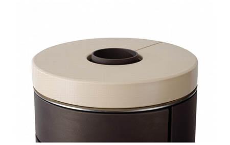 Krbová kamna Leda Novia CL černá,s keramickou deskou