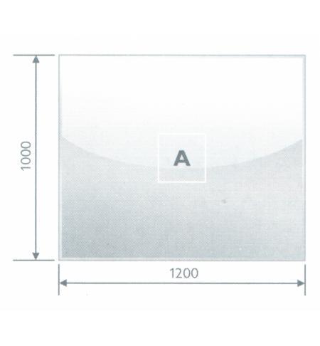 Podstavné sklo A 8 mm