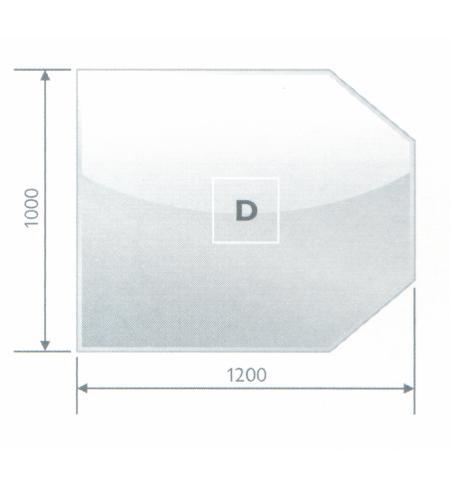 Podstavné sklo D 8 mm