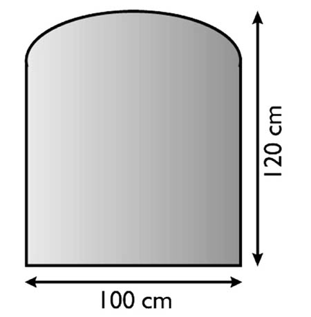 Sklo pod kamna Lienbacher,21.02.882.2/100x120cm,8mm