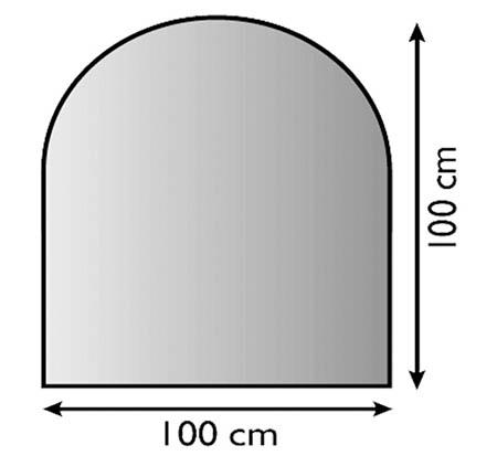 Sklo pod kamna Lienbacher,21.02.881.2/100x100cm,8mm