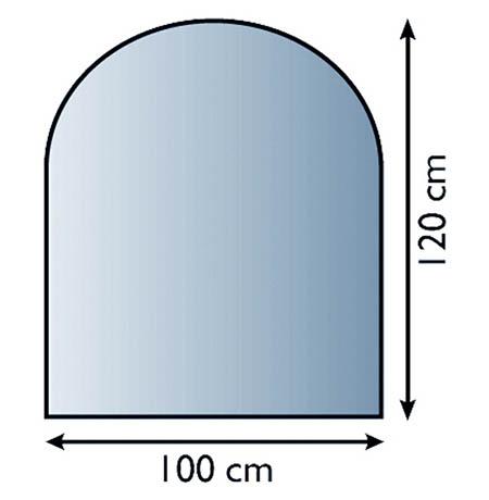 Sklo pod kamna Lienbacher,21.02.880.2/100x120cm,8mm