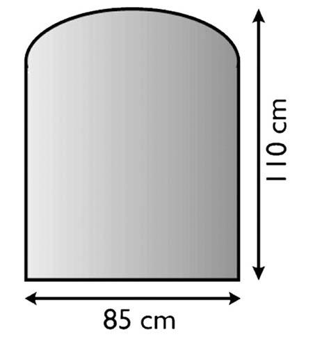 Sklo pod kamna Lienbacher,21.02.981.2/85x110cm,8mm