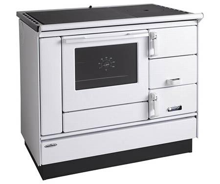 KVS Moravia VSP 9100.11L bílý levý plastové doplňky, plotna litinová + ocelová stříkaná