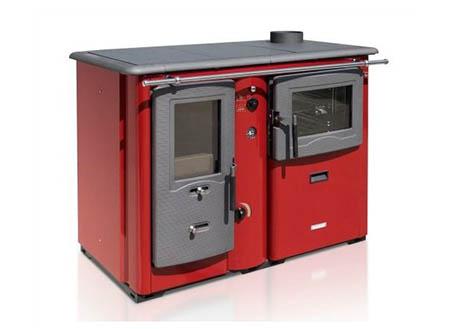 Sporák na tuhá paliva Termomont Temy Plus P 20 s teplovodním výměníkem