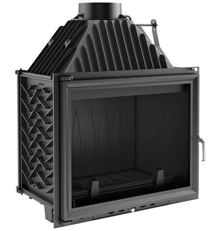 Teplovzdušná krbová vložka Kratki Amelie 25 kW