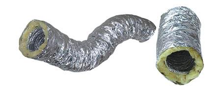 Izolované hliníkové potrubí 160mm/10m