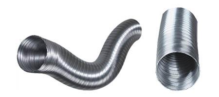 Ohebné hliníkové potrubí 100mm/1,5bm