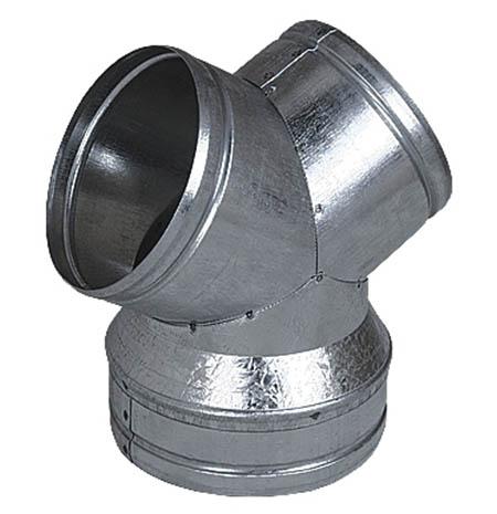 Rozdvojka YR 150/2x125mm, pozink