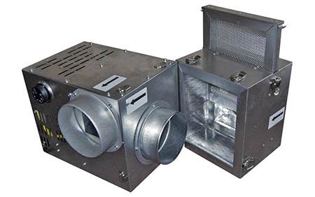 Krbový ventilátor 520 s filtrem