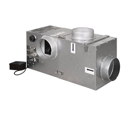 Krbový ventilátor 400 s bypasem