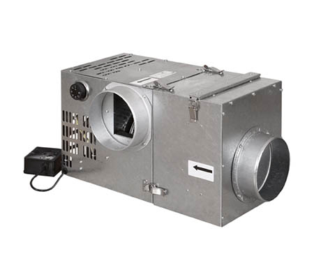 Krbový ventilátor 400 s filtrem