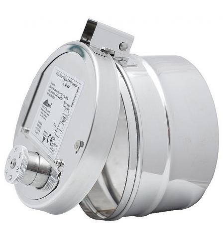 Regulátor tahu kruhový-umístění do kouřovodu průměr 150 mm