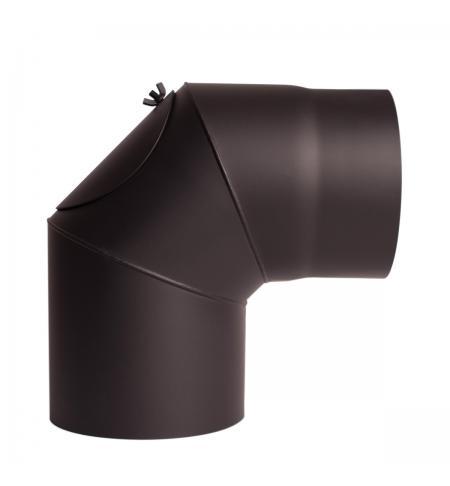 Koleno 90° pevné s čistícím otvorem průměr 150 mm