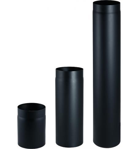 Trubka 150mm/25cm černá