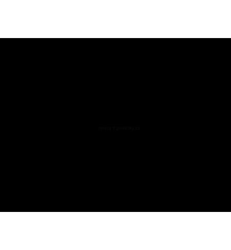 Klapka pro krbová kamna 150 mm černá