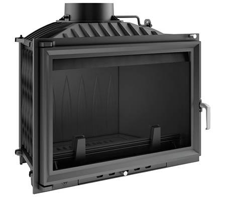 Teplovzdušná krbová vložka KRATKI Wiktor 14 kW