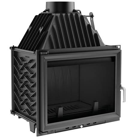 Teplovzdušná krbová vložka Kratki Zuzana 16 kW