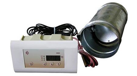 Automatická regulace přívodu vzduchu MSK