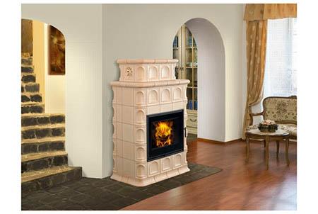 Kachlová kamna Hein BARACCA 3 TV s teplovodním výměníkem