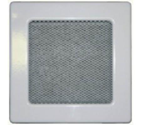 Krbová mřížka 170 x 170 mm bílá
