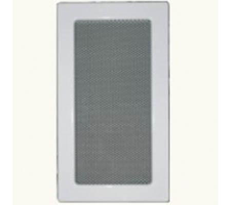 Krbová mřížka 170 x 300 mm bílá