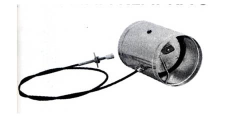 Ovládaná klapka se silikonovým těsněním 125 mm