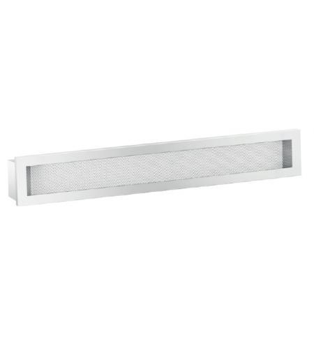 Ventilační mřížka Maxi bíla 800 x 100 mm