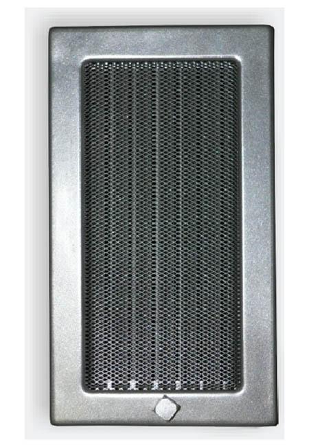 Krbová mřížka 170 x 300 mm žaluzie grafit