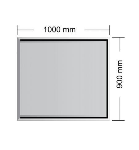 Podstavné sklo Berlín 8 mm