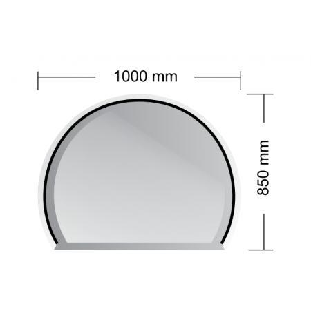 Podstavné sklo Miláno 6 mm