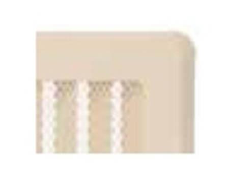 Ventilační mřížky SOLID krémová 195x485