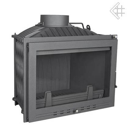 Teplovzdušná litinová krbová vložka Kratki WIKTOR 14 kW LUX
