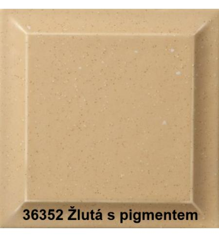 Romotop ALTEA keramika žlutá s pigmentem matná 36352