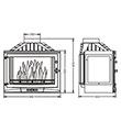Krbová vložka INVICTA 700 SELENIC-3 skla