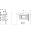 Krbová kamna INVICTA ORIYA antracit ref.: 6112-44