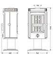 Krbová kamna INVICTA BELVAL antracit ref.: 6161-44