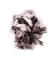 Těsnící šňůra na dvířka kulatá + lepidlo (6mm) 2,5m