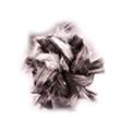 Těsnící šňůra na dvířka kulatá + lepidlo (8mm) 2,5m