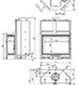 Teplovodní krbová vložka Kretz A 1307 V