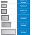 Ventilační mřížky SOLID bílá 195x335